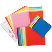 Fold 'Ems Origami Paper 55/Pkg-Assorted Colors