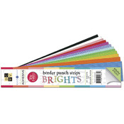 Match Makers Adhesive Texture Brights Border Strip