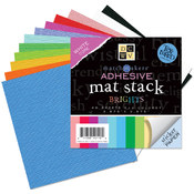 Match Makers Adhesive Texture Brights Mat Stack 3.