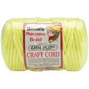 Bonnie Macrame Craft Cord 6mm 100 Yards-Vibrant Ye