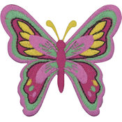 Tees & Novelties Patches For Everyone Iron-On Appliques-Butterfly 1 Wholesale Bulk
