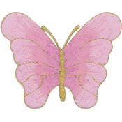 Tees & Novelties Patches For Everyone Iron-On Appliques-Pink Butter Wholesale Bulk