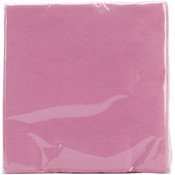 Beverage Napkins 5&quot;X5&quot; 50/Pkg-Candy Pink