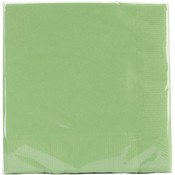 Beverage Napkins 5&quot;X5&quot; 50/Pkg-Citrus Green