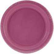 Luncheon Plates 7&quot; 24/Pkg-Candy Pink