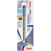 Gel Roller Fabric Pens 1.0mm-Blue