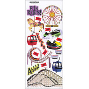 Creative Imaginations Signature Stickers 5.5'X12' Sheet-Rides Wholesale Bulk