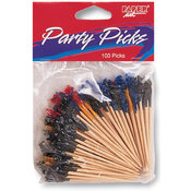 Party Picks 2-1/2&quot; 100/Pkg-Sandwich