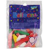 Creative Expressions Balloon Long & Round Assortment -Assorted Colors Wholesale Bulk
