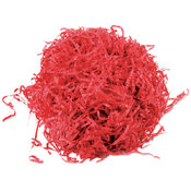 Krinkled Shred Solids 2 Ounces-Flame Red