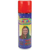 Color Hair Spray 3 Ounces-Red