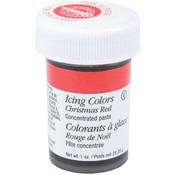 Icing Colors 1 Ounce-Christmas Red