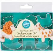 Mini Metal Cookie Cutters 6/Pkg-Noah&#39;s Ark