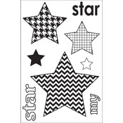 Clear Photopolymer Stamps-My Star Singleton