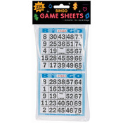 Bingo Game Sheets 125/Pkg-