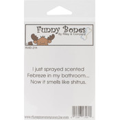 Riley & Company Funny Bones Cling Mounted Stamp-Febreze Wholesale Bulk