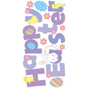 "Essentials Dimensional Stickers 2.75""X6.75"" Sheet-"