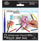 Compact Art Set Design Your Own Cards-Watercolor P