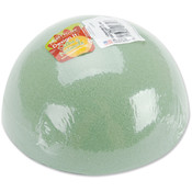 Dry Foam Half Ball 6'X3' 1/Pkg-Green Wholesale Bulk