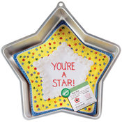 "Cake Pan Novelty-Star 12-3/4""X12-3/4""X1-7/8"""