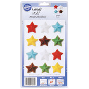 Candy Mold-Stars 12 Cavity Wholesale Bulk