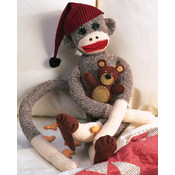 "Peejay Sock Monkey Kit-21"" Long"