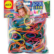 Loop 'n Loom Refill 108/Pkg-Multi Colors