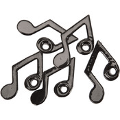 Eyelet Outlet Quicklets-Music Note 20/Pkg Wholesale Bulk