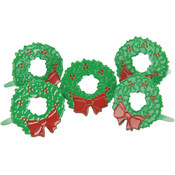 Eyelet Outlet Brads-Wreath 12/Pkg
