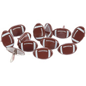 Eyelet Outlet Brads-Football 12/Pkg Wholesale Bulk