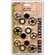Advantus Tim Holtz Idea-Ology Sprocket Gears-12/Pkg - 4ea A Wholesale Bulk