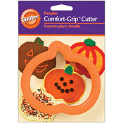 "Comfort-Grip Cookie Cutter 4""-Pumpkin"