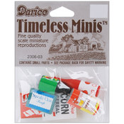 Timeless Miniatures-Groceries 6/Pkg Wholesale Bulk