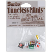 Timeless Miniatures-Assorted Soda Cans 6/Pkg Wholesale Bulk