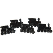 Eyelet Outlet Brads-Train 12/Pkg