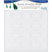 Resin Jewelry Reusable Plastic Mold 6-1/2&quot;x7&quot;-Caba