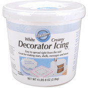 Decorator Icing 4.5 Pounds-Creamy White Wholesale Bulk