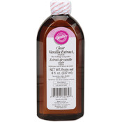 Clear Vanilla Extract-8 Ounces