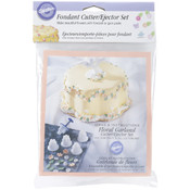 Fondant Cutter/Ejector Set-6 Pieces Wholesale Bulk