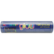 "Glow Sticks 8"" 100/Pkg-Assorted Neon Colors"