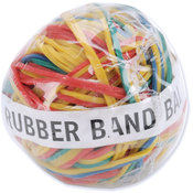 Baumgartens Rubber Band Ball 2'-Assorted Colors Wholesale Bulk