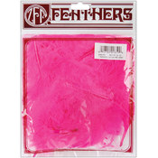 Marabou Feathers .25 Ounces-Pink Ornate
