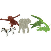 Eyelet Outlet Brads-Zoo 12/Pkg