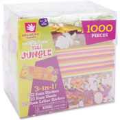3-In-1! Foam Kit-Tiki Jungle Wholesale Bulk