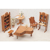 Dollhouse Furniture Kit-Library Wholesale Bulk