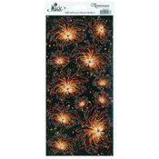 Real Magic Glitter Stickers-Fireworks