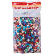 Pony Beads 6x9mm 900/Pkg-Southwest Multi