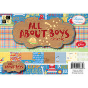 "All About Boys Mat Stack 4.5""X6.5""-72 Sheets"