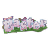 Jolee's Boutique Title Wave Stickers-Happy Easter