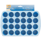 Easy-Flex Silicone Bite Size Daisy Mold-24 Cavity